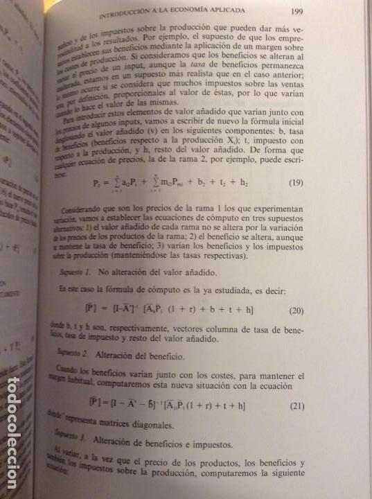Libros de segunda mano: INTRODUCCION A LA ECONOMIA APLICADA (CANDIDO MUÑOZ CIDAD) ESPASA CALPE - Foto 11 - 106021723