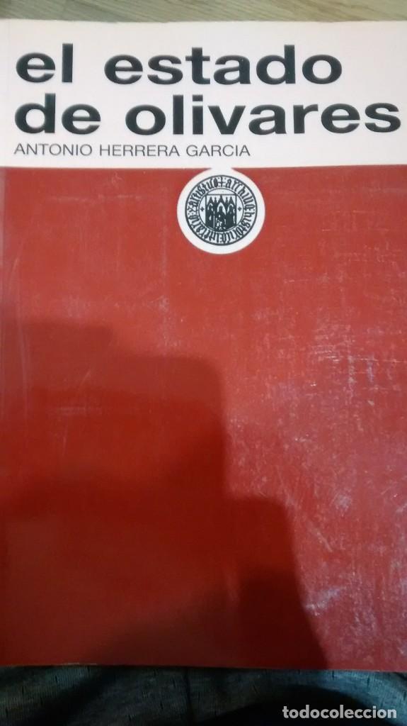 EL ESTADO DE OLIVARES. ANTONIO HERRERA GARCÍA (Libros de Segunda Mano - Ciencias, Manuales y Oficios - Derecho, Economía y Comercio)