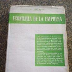 Libros de segunda mano: ECONOMIA DE LA EMPRESA -- PARTE GENERAL -- MANUEL BERLANGA BARBA -- BIBLI. COMERCIO Y FINANZAS 1954. Lote 106949523