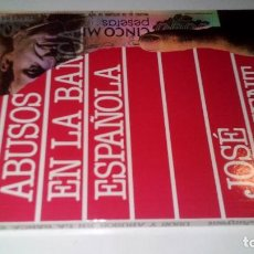 Libros de segunda mano: USOS Y ABUSOS EN LA BANCA ESPAÑOLA-JUNYENT, JOSÉ-EDICIONES PIRAMIDE 1988. Lote 107111131