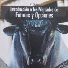 Libros de segunda mano: INTRODUCCION A LOS MERCADOS DE FUTUROS Y OPCIONES/ 4º EDICION/JOHN C.HUL. Lote 107797795