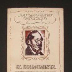 Libros de segunda mano: EL ECONOMISTA FEDERICO LIST, PERIODISTA - FUENTES IRUROZQUI, MANUEL. Lote 107954840
