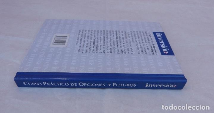 Libros de segunda mano: Curso practico de opciones y futuros/inversor ediciones, S.L./1998 - Foto 3 - 108349579