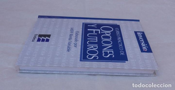 Libros de segunda mano: Curso practico de opciones y futuros/inversor ediciones, S.L./1998 - Foto 4 - 108349579