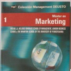 Libros de segunda mano: MÁSTER EN MARKETING - DEUSTO PARA EL MUNDO Y EXPANSIÓN - COLECCIÓN MANAGEMENT DEUSTO, 2007. Lote 108407643