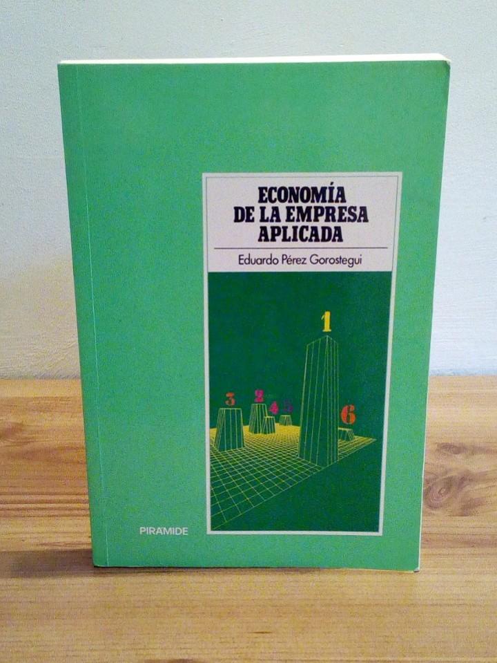 ECONOMÍA DE LA EMPRESA APLICADA: SELECCIÓN DE INVERSIONES Y MARKETING. VOL I 1998 (Libros de Segunda Mano - Ciencias, Manuales y Oficios - Derecho, Economía y Comercio)