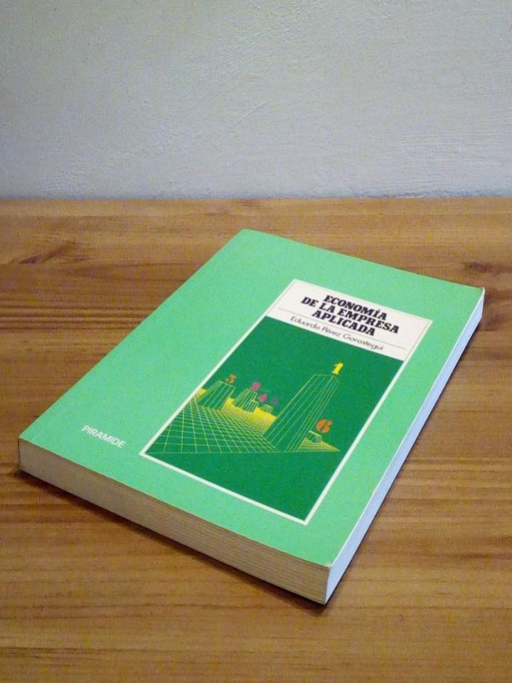Libros de segunda mano: ECONOMÍA DE LA EMPRESA APLICADA: Selección de inversiones y marketing. Vol I 1998 - Foto 7 - 102556579