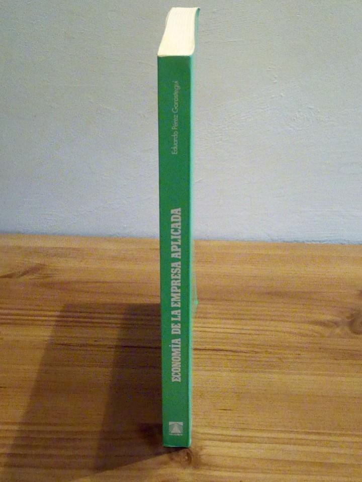 Libros de segunda mano: ECONOMÍA DE LA EMPRESA APLICADA: Selección de inversiones y marketing. Vol I 1998 - Foto 5 - 102556579