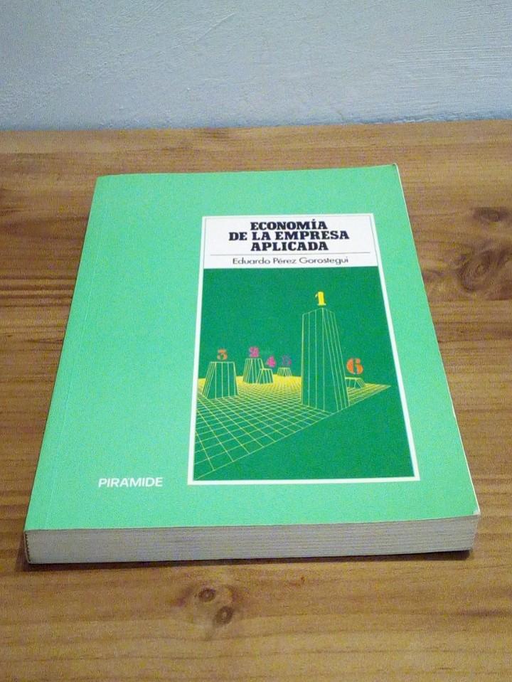 Libros de segunda mano: ECONOMÍA DE LA EMPRESA APLICADA: Selección de inversiones y marketing. Vol I 1998 - Foto 2 - 102556579