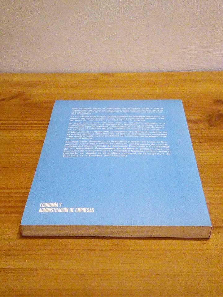 Libros de segunda mano: ECONOMÍA DE LA EMPRESA APLICADA: Instrumentos de decisión, financiación y producción. Vol II 1987 - Foto 4 - 102557635