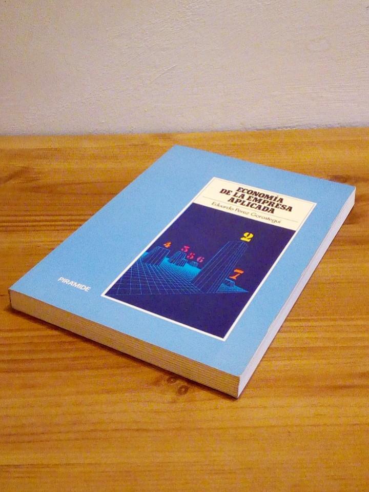 Libros de segunda mano: ECONOMÍA DE LA EMPRESA APLICADA: Instrumentos de decisión, financiación y producción. Vol II 1987 - Foto 7 - 102557635