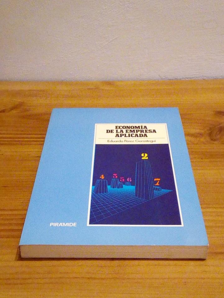 Libros de segunda mano: ECONOMÍA DE LA EMPRESA APLICADA: Instrumentos de decisión, financiación y producción. Vol II 1987 - Foto 2 - 102557635