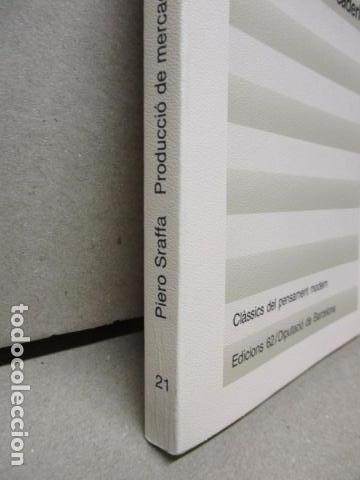 Libros de segunda mano: Producció de mercaderies per mitjà de mercaderies Piero Sraffa Ed 62 Clàssics del pensament modern - Foto 3 - 263100240