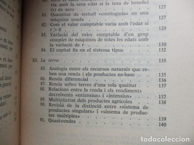 Libros de segunda mano: Producció de mercaderies per mitjà de mercaderies Piero Sraffa Ed 62 Clàssics del pensament modern - Foto 16 - 263100240
