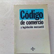 Libros de segunda mano: LIBRO CODIGO DE COMERCIO Y LEGISLACIÓN MERCANTIL. Lote 110094975