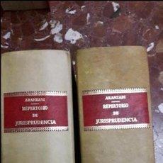 Libros de segunda mano: REPERTORIO DE JURISPRUDENCIA 1982 ARANZADI. Lote 105700939
