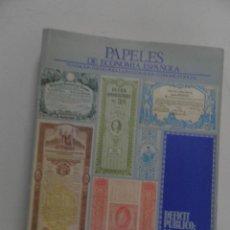 Libros de segunda mano: PAPELES DE ECONOMIA ESPAÑOLA Nº 23 -1985 -DEFICIT PUBLICO , OBRA SOCIAL CAJAS DE AHORRO. Lote 111925251