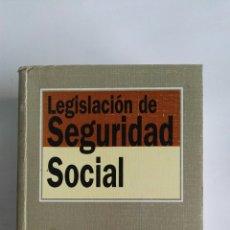Libros de segunda mano: LEGISLACIÓN DE SEGURIDAD SOCIAL EDITORIAL TECNOS 1999. Lote 112422676