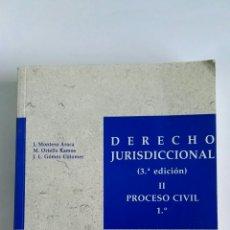 Libros de segunda mano: DERECHO JURISDICCIONAL II PROCESO CIVIL 1° J.M. BOSCH EDITOR 1993. Lote 112439808