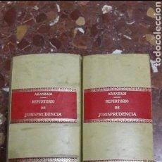 Libros de segunda mano: REPERTORIO CRONOLÓGICO DE JURISPRUDENCIA 1979 COMPLETO ARANZADI. Lote 105700260