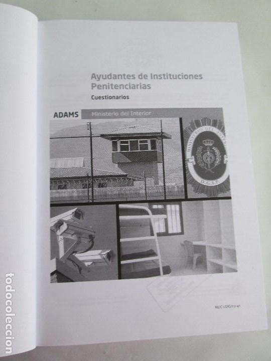 ayudantes de instituciones penitenciarias temar - Comprar