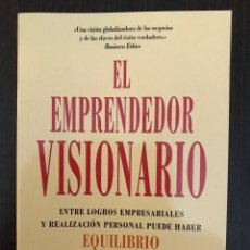 Libros de segunda mano: EL EMPRENDEDOR VISIONARIO, MARC ALLEN, ED. EMPRESA ACTIVA 2006. Lote 147549449