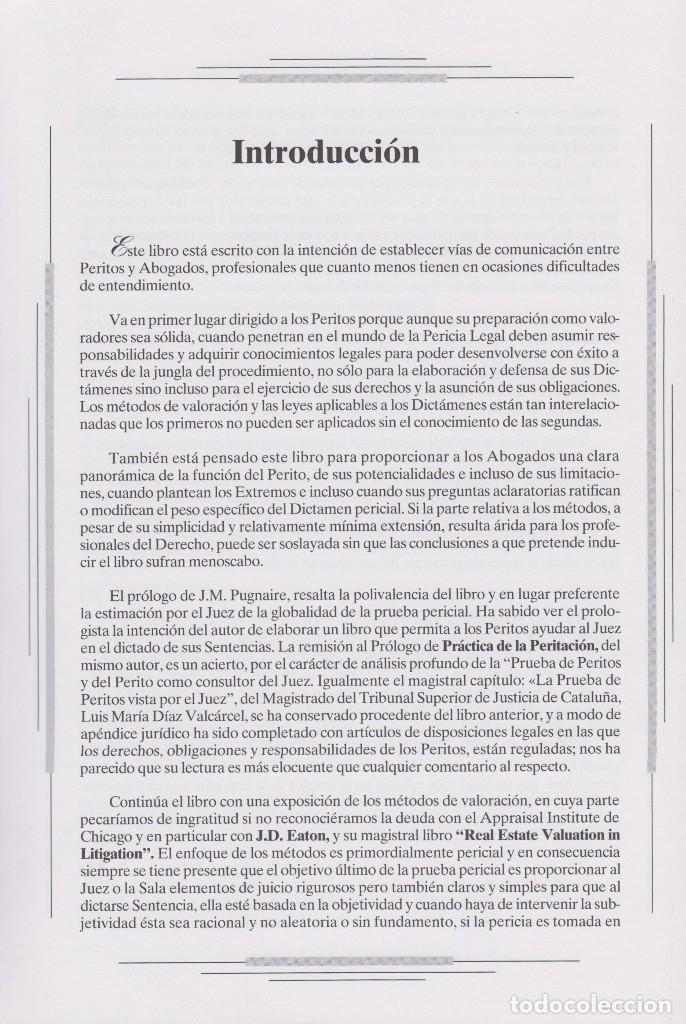 Libros de segunda mano: VALORACIÓN INMOBILIARIA PERICIAL - Foto 2 - 114290783