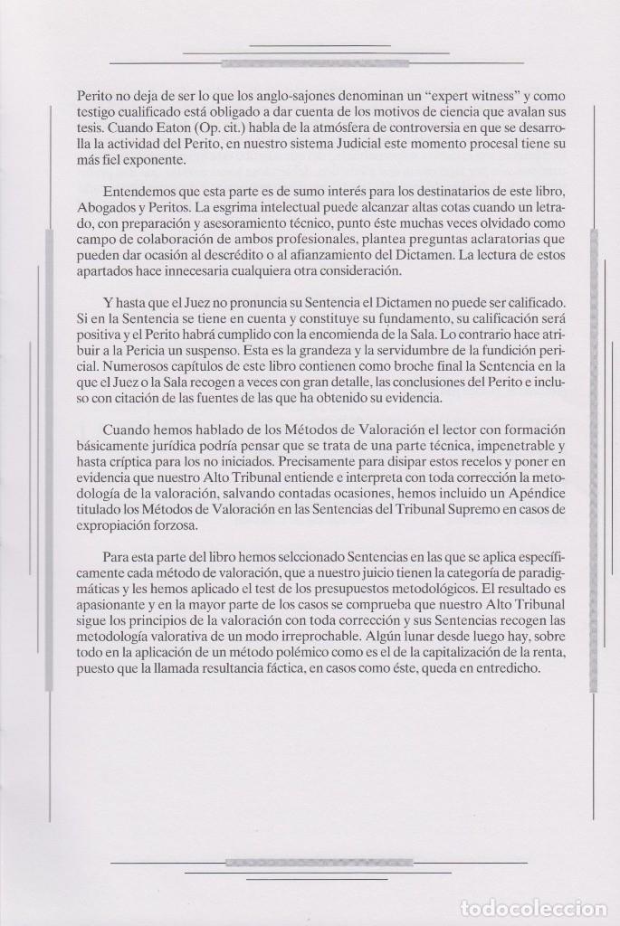Libros de segunda mano: VALORACIÓN INMOBILIARIA PERICIAL - Foto 4 - 114290783