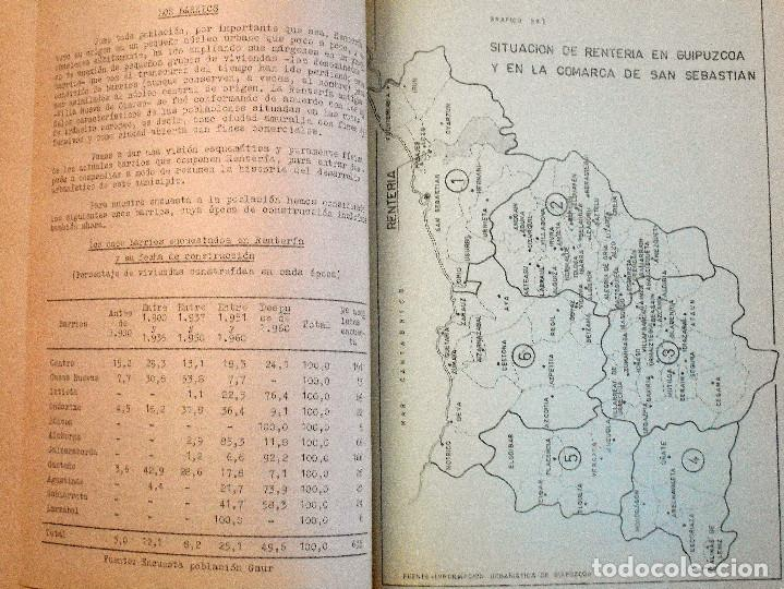 Libros de segunda mano: EL PUEBLO DE RENTERÍA EN 1970 - GAUR SCI AÑO 1971 - PUBLICADO POR EL AYUNTAMIENTO DE RENTERÍA - Foto 11 - 114537783