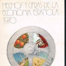 Libros de segunda mano: HECHOS Y CIFRAS DE LA ECONOMIA ESPAÑOLA 1970 BANCO EXTERIOR DE ESPAÑA. Lote 115001771