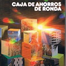 Libros de segunda mano: CAJA DE AHORROS DE RONDA MEMORIA 1980. Lote 115001983