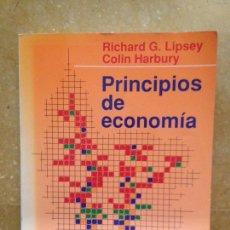 Libros de segunda mano: PRINCIPIOS DE ECONOMÍA (LIPSEY / HARBURY). Lote 115091314
