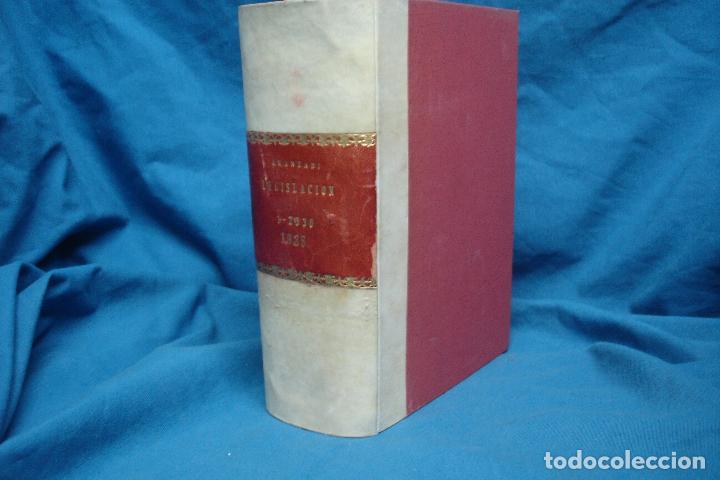 REPERTORIO CRONOLÓGICO DE LEGISLACIÓN - AÑO 1935 PRIMERA EDICIÓN - ED. ARANZADI (Libros de Segunda Mano - Ciencias, Manuales y Oficios - Derecho, Economía y Comercio)