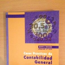 Libros de segunda mano: CASOS PRÁCTICOS DE CONTABILIDAD GENERAL. VOLUMEN 1 (ÁNGEL SÁEZ TORRECILLA). Lote 194689231