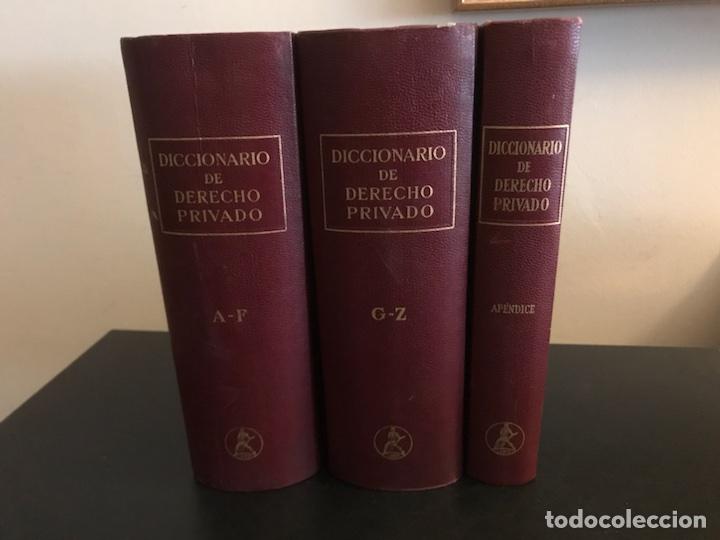 DICCIONARIO DE DERECHO PRIVADO. TRES TOMOS. COMPLETA. EDITORIAL LABOR (Libros de Segunda Mano - Ciencias, Manuales y Oficios - Derecho, Economía y Comercio)