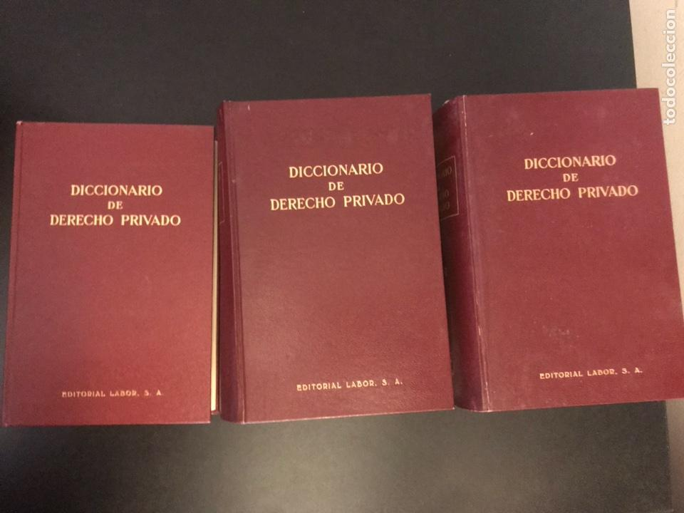 Libros de segunda mano: DICCIONARIO DE DERECHO PRIVADO. TRES TOMOS. COMPLETA. EDITORIAL LABOR - Foto 2 - 116517115
