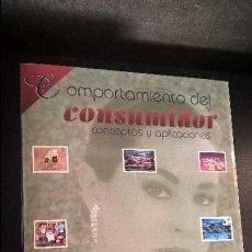 Libros de segunda mano: COMPORTAMIENTO DEL CONSUMIDOR: CONCEPTOS Y APLICACIONES. DAVID L. LOUDON Y ALBERT J. DELLA BITTA.. Lote 117113403