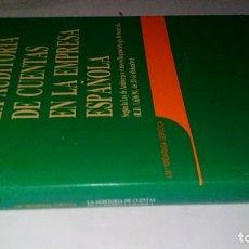 Libros de segunda mano: LA AUDITORIA DE CUENTAS EN LA EMPRESA ESPAÑOLA-JUAN MARÍA MADARIAGA GOROCICA-DEUSTO 1991. Lote 117169751