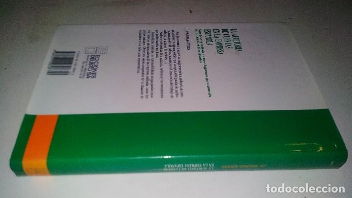 Libros de segunda mano: LA AUDITORIA DE CUENTAS EN LA EMPRESA ESPAÑOLA-Juan María Madariaga Gorocica-DEUSTO 1991 - Foto 2 - 117169751