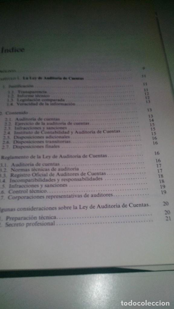 Libros de segunda mano: LA AUDITORIA DE CUENTAS EN LA EMPRESA ESPAÑOLA-Juan María Madariaga Gorocica-DEUSTO 1991 - Foto 7 - 117169751