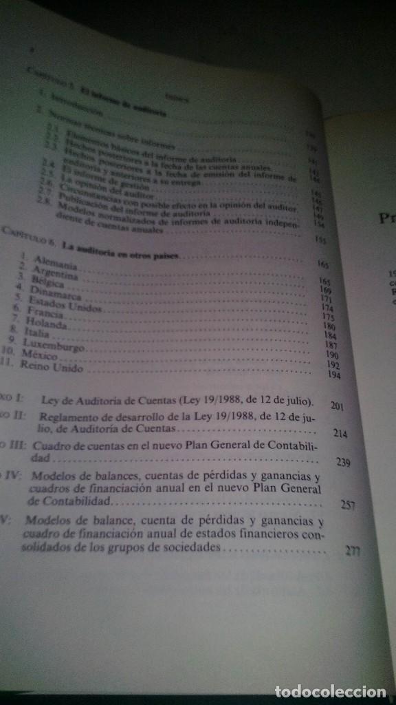 Libros de segunda mano: LA AUDITORIA DE CUENTAS EN LA EMPRESA ESPAÑOLA-Juan María Madariaga Gorocica-DEUSTO 1991 - Foto 10 - 117169751