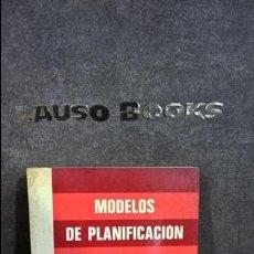 Libros de segunda mano: MODELOS DE PLANIFICACIÓN. COLIN LEE. PIRÁMIDE 1974.. Lote 117893651