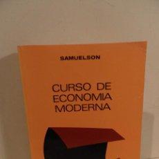 Libros de segunda mano: SAMUELSON- CURSO DE ECONOMÍA MODERNA - AGUILAR 1974. Lote 118660555