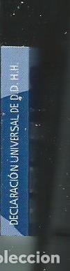 Libros de segunda mano: MINI LIBRO MINIATURA COLECCION MINILIBROS DERECHOS HUMANOS CGAE 2005 DECLARACION UNIVERSAL - Foto 4 - 119151939