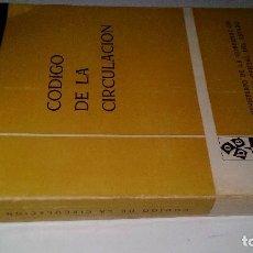 Libros de segunda mano: CODIGO DE LA CIRCULACION-EDICION OFICIAL-BOLETIN OFICIAL DEL ESTADO 1971. Lote 119340803