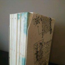 Libros de segunda mano: FORMULARIOS NOTARIALES ARAGONESES - ANGEL SAN VICENTE - 6 TOMOS. Lote 121568443