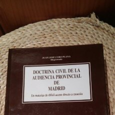 Libros de segunda mano: DOCTRINA CIVIL DE LA AUDIENCIA PROVINCIAL DE MADRID DIJUSA 2003. Lote 122182978
