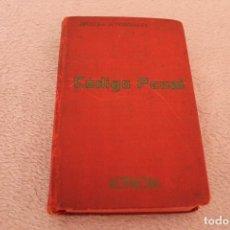 Libros de segunda mano: LIBRO CODIGO PENAL DE 23 DE DICIEMBRE DE 1944 ERCERA EDICION. Lote 122285411