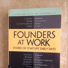 Libros de segunda mano: FOUNDERS AT WORK. STORIES OF STARTUPS' EARLY DAYS (JESSICA LIVINGSTON). Lote 122769688