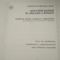 Libros de segunda mano: CAJA AHORRO CURSO ECONOMICAS EMPRESARIALE.ESTUDIO Y ACTUALIZACION HACIENDA PUBLICA II,REGIMEN FISCAL. Lote 123575910